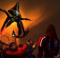 Reaper Invasion mass effect 3 by SockpicK