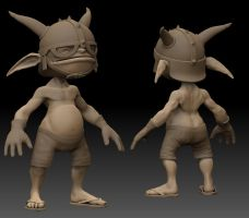Cronk sculpt by rickystinger88