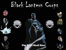 Black Lantern Corps by hpWiz