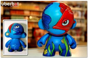 fish face munny by pixel-putty