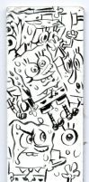 SpongeBob Vertical Doodles by shermcohen