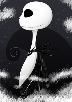 Jack The Nightmare Before Christmas by Tenshi-Go