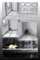 Rats In A Lab: page 1 by mechanicalmasochist