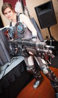 Gears of War Cog Cosplay by LadySnip3r