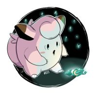 035 - Clefairy by steven-andrew
