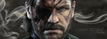 'Big Boss' Cover Photo | Metal Gear Solid by Athraxas