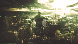 The Incredible Hulk by RonaldVQZ