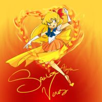 Sailor V by bee-chan1