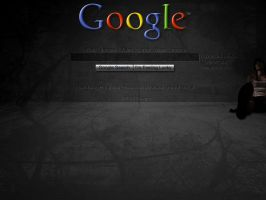 Google Wallpaper Dark by zeke-ulrich