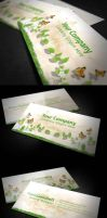 Nature Business Card by k0z3y