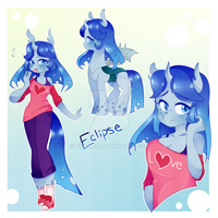 Eclipse, the Changeling, Original Character Design by teward