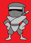 If Silver Shinobi was in.... Shovel Knight? by SilverKazeNinja