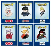 Bishonen Card Set by laurbits