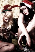 Emma and Willow - Santa Baby 6 by Glamour-and-Abuse
