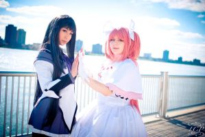 Puella Magi Madoka Magica - Heavenly Girls 2 by LiquidCocaine-Photos
