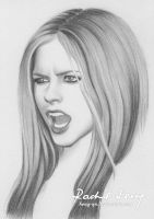 Avril Lavigne 2 by Hong-Yu