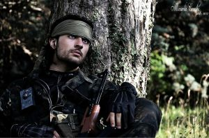 snake aka big boss metal gear solid 3 by HitoCosplay