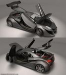 XR-Z Concept Car 3 by MeganeRid