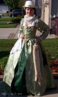 The Green Duchess Gown by ladylucrezia