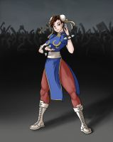 Chun Li is here by Panipani