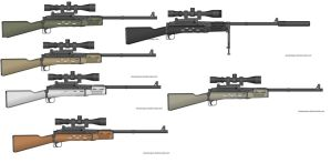 Kritz Hunting Rifle Wall by GeneralRich