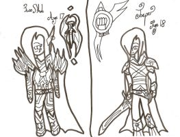 Character Sheet 23: Uncoloured by xxxBrokenSoulxxx