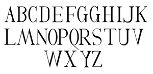Serif Font by Weegraphicsman