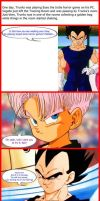DBZ FUNNYVERSE: Beware the Eyes by SSJGOKU10