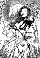 DARK PHOENIX 2013 by barfast