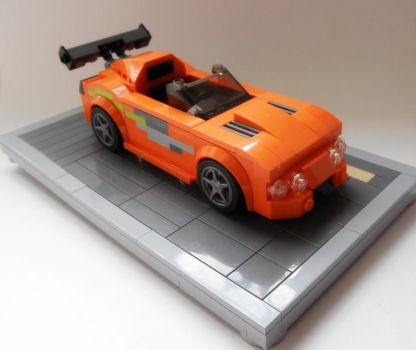 Brian's 1994 Toyota Supra MK IV (with stand) by Spooky42