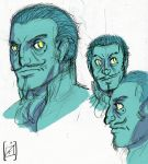 Hector Durand redesign sketches by iisjah