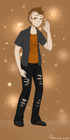 Tavros Nitram - HumanstucK by Queen-of-the-8-Seas