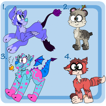 Collab Hybrid Adopts (OPEN 3/4) ONE MORE LEFT by frankkiestein