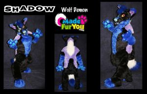 Shadow Fursuit! by The-Shy-Violinist