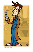 The 10th Doctor by Montygog