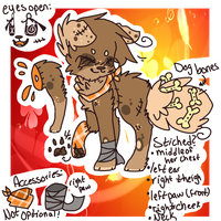 Biscuit Reference Sheet 2014 by snickIett