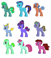 DTA Ponies :OPEN: by Shimmering-Adopts