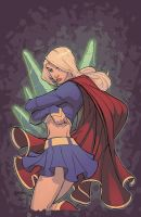 SuperGirl by Barberi by Ross-A-Campbell