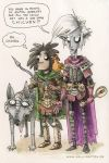 Neverwinter Nights Characters by JollyRotten