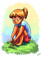 I was a kid once by vickyjane