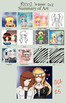 2012 Art Progress - SO FAR - by xDeliciousDemise