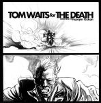 panel from Tom Waits Comic project by huseyinozkan