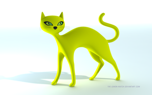 My Yellow Cat - No box by THE-LEMON-WATCH
