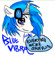 Blue Vibra REQUEST by SpottedFedoras