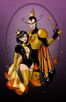 Mr. and Dr. Mrs. The Monarch by Klar-Jezebeth