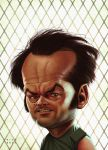 Jack Nicholson as R.P. McMurphy by ElectroNic0