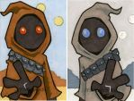 Star Wars Chrome Perspectives  - Jawas by 10th-letter
