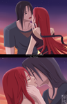ItaHizui kiss color by Itygirl