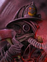 The Fireman by Corvalian