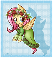Shy - coronation dress by AngGrc